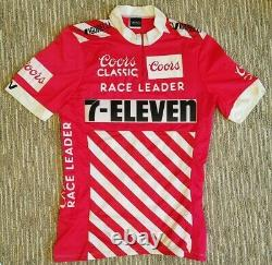1988 Coors Classic Race Leader Jersey 7-Eleven Cycling Team Davis Phinney