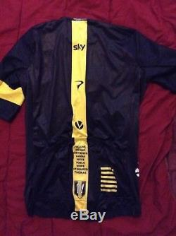 2016 Le Tour De France Chris Froome IV Victory Rapha Aero Cycling Jersey M New