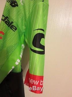2017 POC Cannondale Drapac Pro Cycling SS Climber Race Skinsuit Small Made Italy