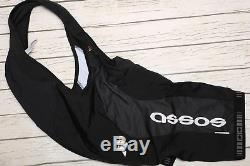ASSOS FI. MILLE SS. UNO short sleeve full zip MEN'S BLACK JERSEY & BIB SHORTS L