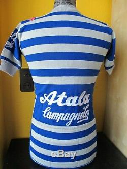 ATALA CAMPAGNOLO CASTELLI PIRELLI NOS GENUINE Cycling Jersey VINTAGE Size 2