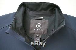 Aether Apparel Lined Wind Shell Jacket Blue Cycling Outdoor Mens M Size 2