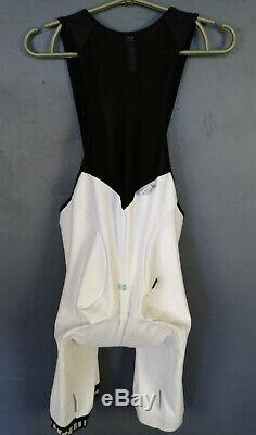 Assos Fi. Mille S5 Campionissimo Cycling Bicycle Body Bib Shorts Padded Size L