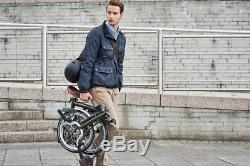 Barbour x Brompton Merton Waxed Jacket Cycling Navy M NEW