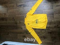 Bradley Wiggins 2012 Tour De France Yellow Jersey worn and signed