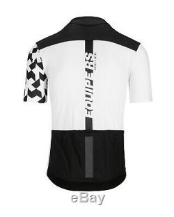 Brand New! Assos Equipe RS Aero SS Men's Summer Jersey Large Holy White