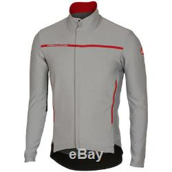 Castelli Perfetto Long Sleeve Cycling Jacket Grey SALE CHEAPEST IN UK
