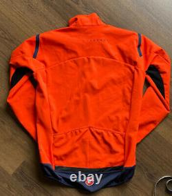 Castelli Perfetto ROS Long Sleeve Mens Jersey Orange- XL-Almost New