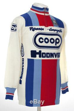 Coop Hoonved Rossin Vintage Wool Cycling Jersey Set Maillot Cycliste Mint Nos