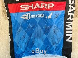 Garmin Sharp Jersey, Autographed By The Team