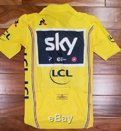 Genuine Team Sky Issued Yellow Jersey Tour De France 2017 Chris Froome