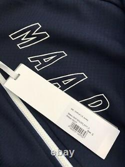 MAAP Long Sleeve Vertical DWR Winter Jersey Size Small Navy Pro Fit Retail $235