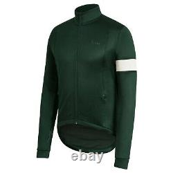 NEW Rapha Men's Cycling Classic Winter Jersey XL Green White RCC Insulated