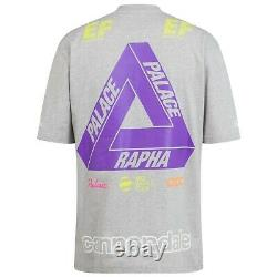 NEW Rapha Palace XL Short Sleeve T-Shirt Gray Cannondale Graphic Cycling POC EF