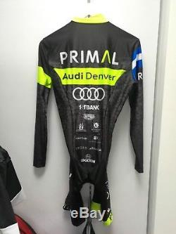 New Primal Audi Pro Team Race Skinsuit Mens in Size M (WORLDWIDE SHIPPING)