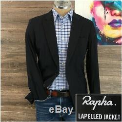 New Rapha Lapelled Jacket Men's Size L Cycling Windproof Water Repellent $450