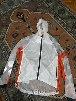 New Very Rare Rapha Raeburn City Wind Jacket Size L Number 85 Made In the UK