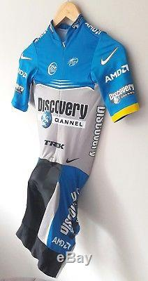Nike Swift Speedsuit Cycling Skinsuit Sprintsuit Discovery Channel Size 3 (M)