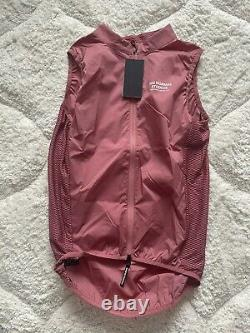 Pas normal studio stow away gilet Dusty Rose Size Small