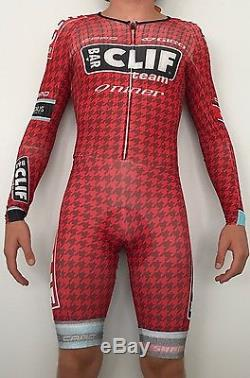 Pro Mens Capo Cycling Suit Long Sleeve Jersey Skinsuit