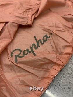 Rapha Brevet Flyweight Wind Jacket Rose Dark Green Size Large Brand New With Tag