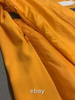 Rapha Brevet Insulated Jacket Dark Yellow Size Small Brand New With Tag