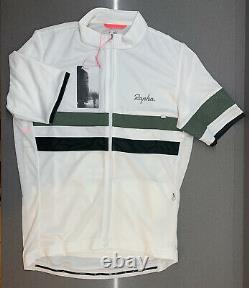 Rapha Brevet Lightweight Jersey White Size Large Brand New With Tag