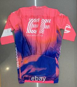 Rapha EF Education First Pro Team Aero Jersey High-Vis Pink Medium New With Tag