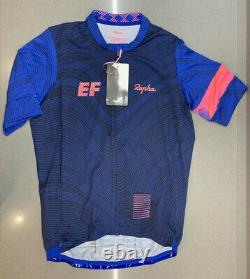 Rapha EF Education First Pro Team Training Jersey Blue Size Medium New With Tag