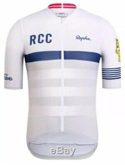Rapha Limited Edition RCC Étape PRO TEAM Flyweight Jersey White BNWT Size L