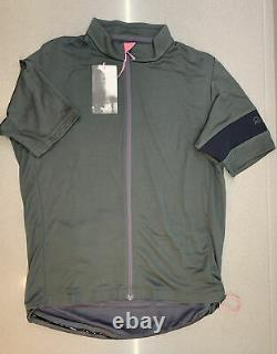 Rapha Men's Classic Jersey II Carbon Grey Size Large Brand New With Tag