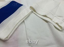 Rapha Men's Classic Jersey II White Royal Blue Size Large Brand New With Tag