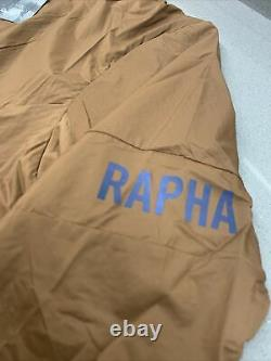 Rapha Men's Pro Team Insulated Jacket Brown Size Medium Brand New With Tag