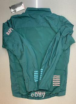 Rapha Men's Pro Team Insulated Jacket Green Size Medium Brand New With Tag