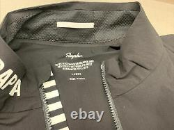 Rapha Men's Pro Team Lightweight Shadow Jacket Black Large Brand New With Tag
