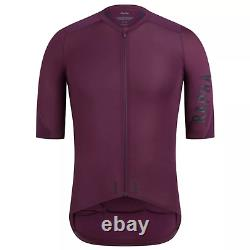 Rapha PRO TEAM Aero Cycling Jersey Plum Size Large Brand New With Tags