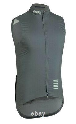 Rapha PRO TEAM Insulated Gilet Green/Grey BMWT Size L