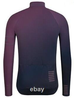 Rapha PRO TEAM Limited Edition Thermal Colourburn Jersey Navy/Purple BNWT Size L