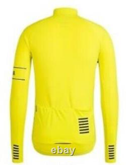 Rapha PRO TEAM Long Sleeve Thermal Jersey Chartreuse BNWT Size M