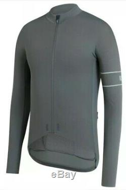 Rapha PRO TEAM Long Sleeve Thermal Jersey Green Grey BNWT Size L