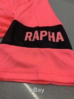Rapha Pro Team Flyweight Jersey High-Vis Pink Size Small New With Tag