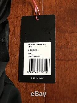 Rapha Pro Team Thermal Bib Shorts Black Small Brand New With Tags