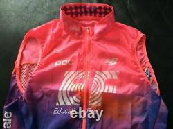 Rapha pro team education first lightweight gilet cycling new with tags pink giro