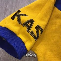 Vintage KAS Campagnolo Team cycling Jersey Top Shirt 1977 Eroica Kelly Wool