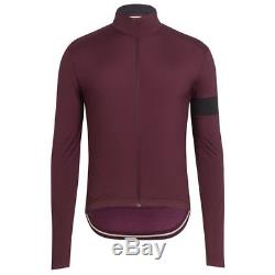 Maillot Coupe-vent Rapha Winter Rich Rich Burgundy Taille Medium Bnwt